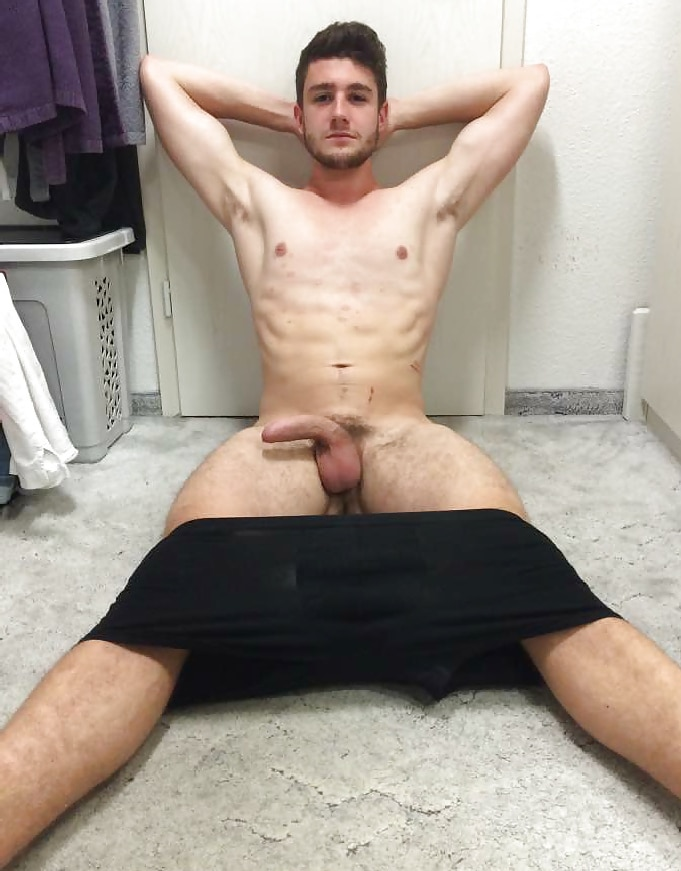 Man Showing Cock