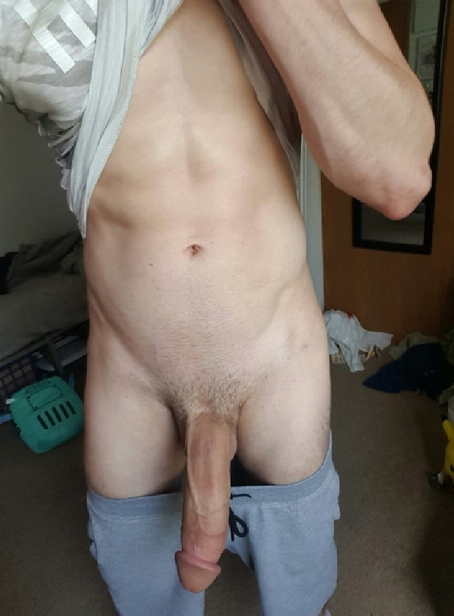 Showing Big Cock