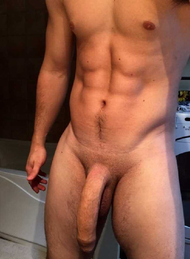 Hot Stud Offers His Cock For Play